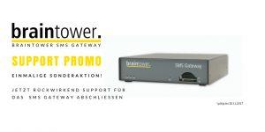 Support Special für das Braintower SMS Gateway
