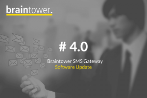 SMS Gateway Appliance Software Update
