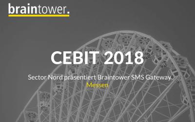 Braintower SMS Gateway auf der CEBIT